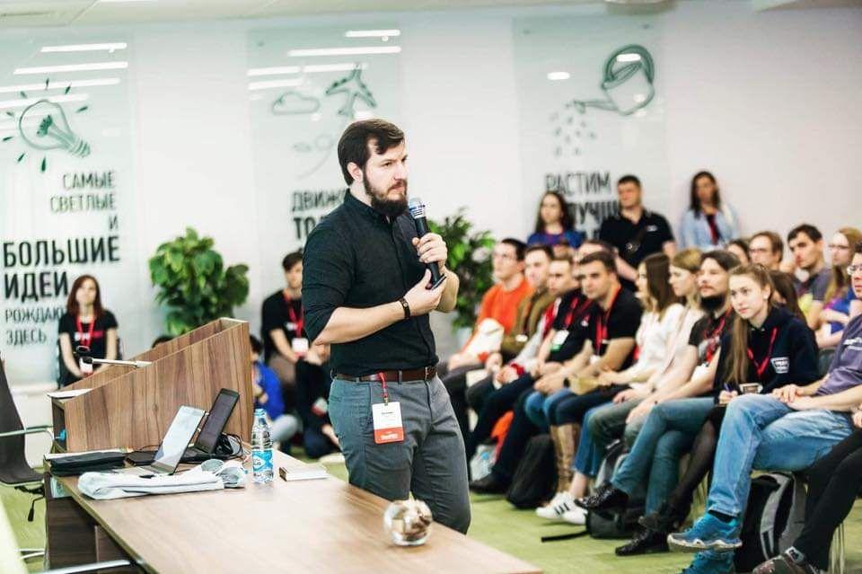 Одним из тех, кто поделится впечатлениями от конференции, будет Evgeny Kot
